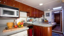 Sailing yacht APACHE -  Galley